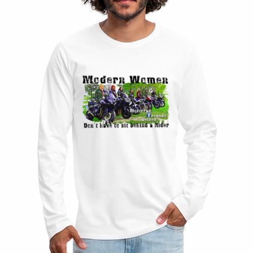 Modern Women FB Gruppe Uelzen - Männer Premium Langarmshirt