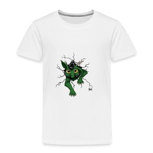 Huch?!- Drachi Dragon stuck grün/green Tasse - Kinder Premium T-Shirt