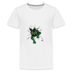 Huch?!- Drachi Dragon stuck grün/green Tasse - Teenager Premium T-Shirt