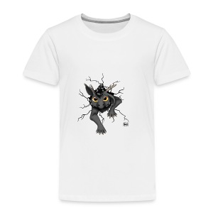 Huch?!- Drachi Dragon stuck grau/grey Tasse - Kinder Premium T-Shirt