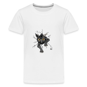 Huch?!- Drachi Dragon stuck grau/grey Tasse - Teenager Premium T-Shirt
