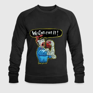 We can eat it - Men's Sweatshirt by Stanley & Stella