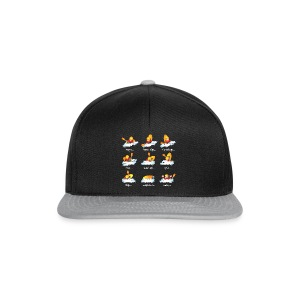 92. Playboat fail - Snapback Cap