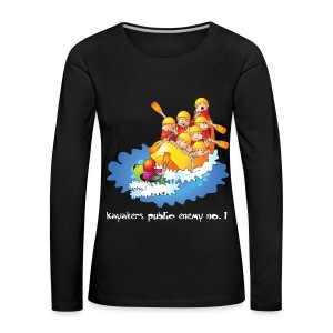 94. Public Enemy - Women's Premium Longsleeve Shirt