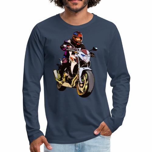 Biker - Männer Premium Langarmshirt