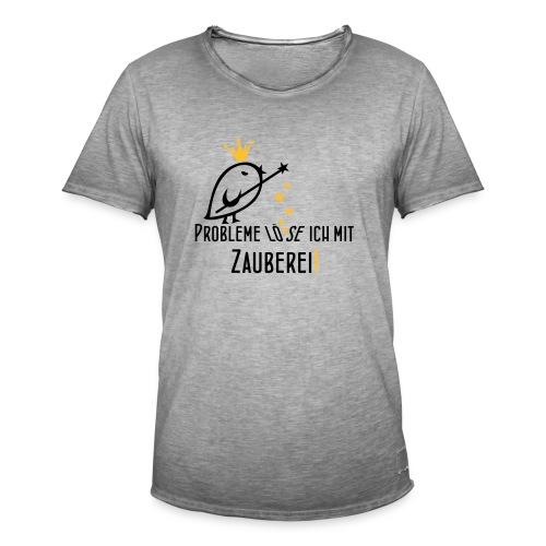 TWEETLERCOOLS Zauberei - Männer Vintage T-Shirt
