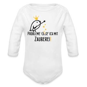 TWEETLERCOOLS Zauberei - Baby Bio-Langarm-Body