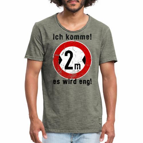 Ich Komme - Männer Vintage T-Shirt
