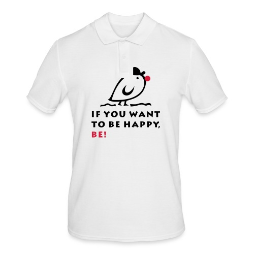 TWEETLERCOOLS be happy - Männer Poloshirt