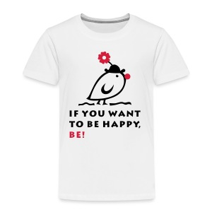 TWEETLERCOOLS be happy - Kinder Premium T-Shirt