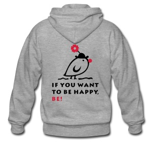 TWEETLERCOOLS be happy - Männer Premium Kapuzenjacke