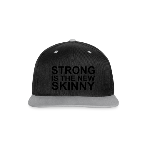 Strong is the new Skinny - Kontrast Snapback Cap