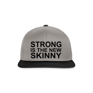 Strong is the new Skinny - Snapback Cap