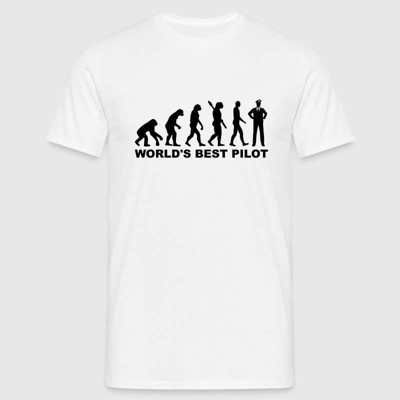 World's best Pilot T-Shirts - Männer T-Shirt