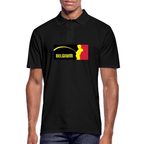 Mannekke Pis, Belgium Rode duivels - Belgium - Belgie - Polo Homme