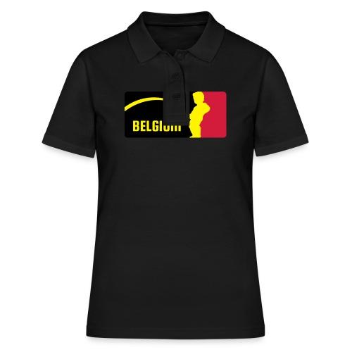 Mannekke Pis, Belgium Rode duivels - Belgium - Belgie - Women's Polo Shirt