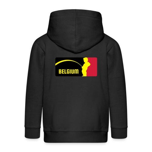 Mannekke Pis, Belgium Rode duivels - Belgium - Belgie - Veste à capuche Premium Enfant