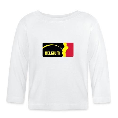 Mannekke Pis, Belgium Rode duivels - Belgium - Belgie - T-shirt manches longues Bébé