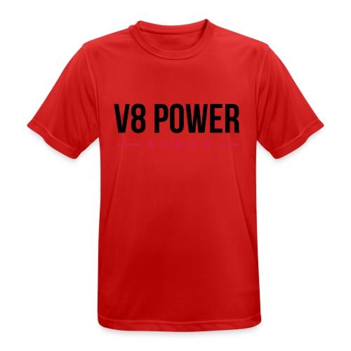 V8-Power Männer Hoodie - Männer T-Shirt atmungsaktiv