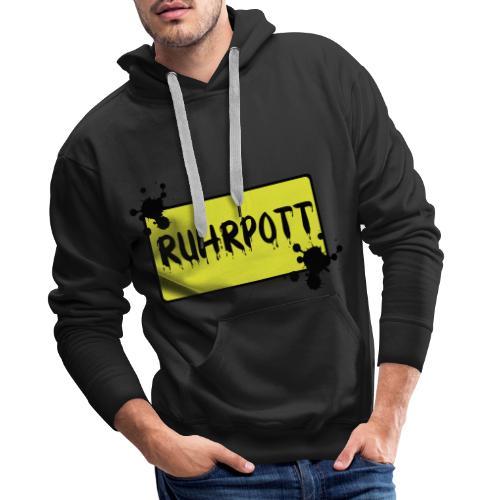 Ortsschild Ruhrpott Tasche - Männer Premium Hoodie