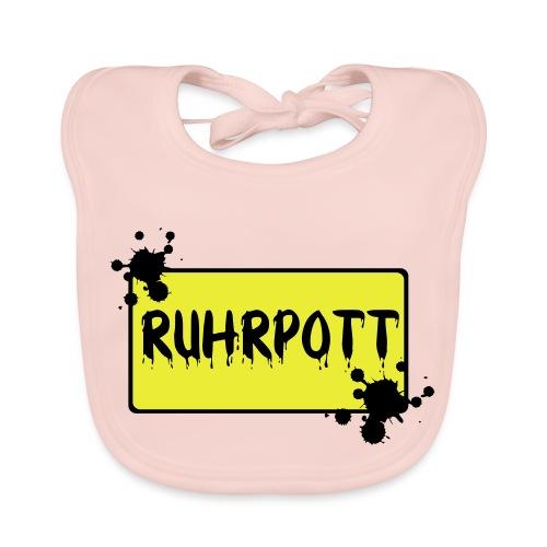Ortsschild Ruhrpott Tasche - Baby Bio-Lätzchen