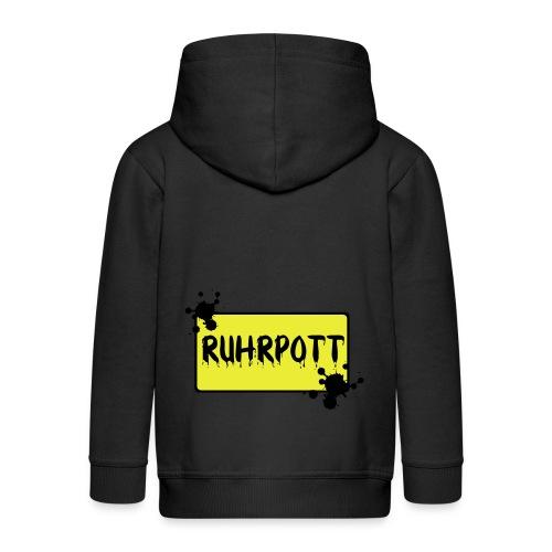 Ortsschild Ruhrpott Tasche - Kinder Premium Kapuzenjacke