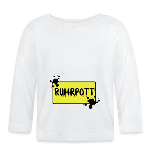 Ortsschild Ruhrpott Tasche - Baby Langarmshirt