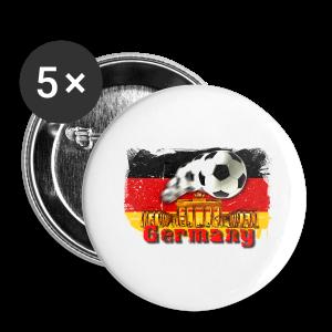 Deutschland Grillschürze - Buttons klein 25 mm