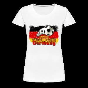 Deutschland Grillschürze - Frauen Premium T-Shirt