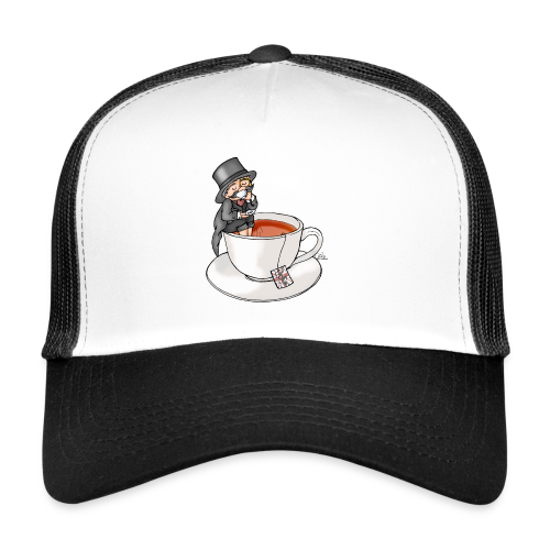 Teatime like a Sir mit Earl Grey - Trucker Cap