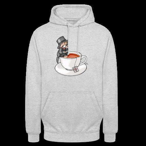 Teatime like a Sir mit Earl Grey - Unisex Hoodie