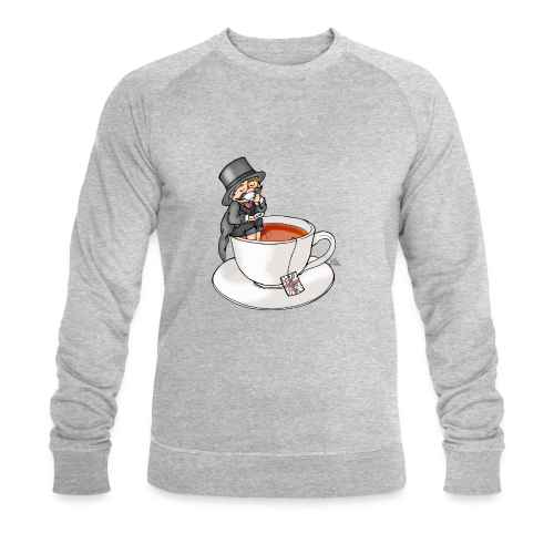 Teatime like a Sir mit Earl Grey - Männer Bio-Sweatshirt von Stanley & Stella