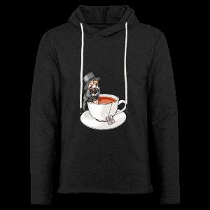 Teatime like a Sir mit Earl Grey - Leichtes Kapuzensweatshirt Unisex