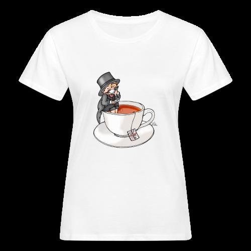 Teatime like a Sir mit Earl Grey - Frauen Bio-T-Shirt
