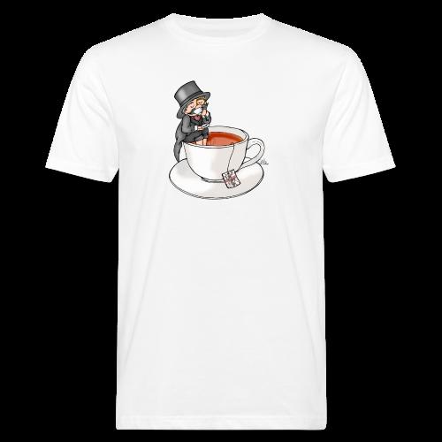 Teatime like a Sir mit Earl Grey - Männer Bio-T-Shirt