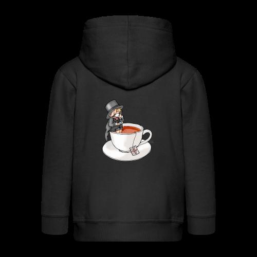 Teatime like a Sir mit Earl Grey - Kinder Premium Kapuzenjacke