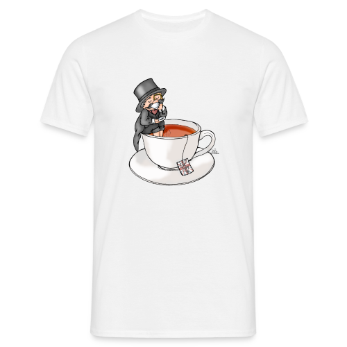 Teatime like a Sir mit Earl Grey - Männer T-Shirt