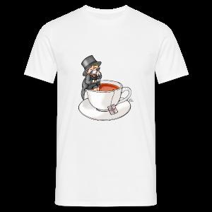 Teatime like a Sir mit Earl Grey - Männer T-Shirt