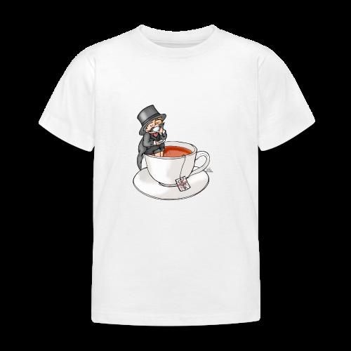 Teatime like a Sir mit Earl Grey - Kinder T-Shirt