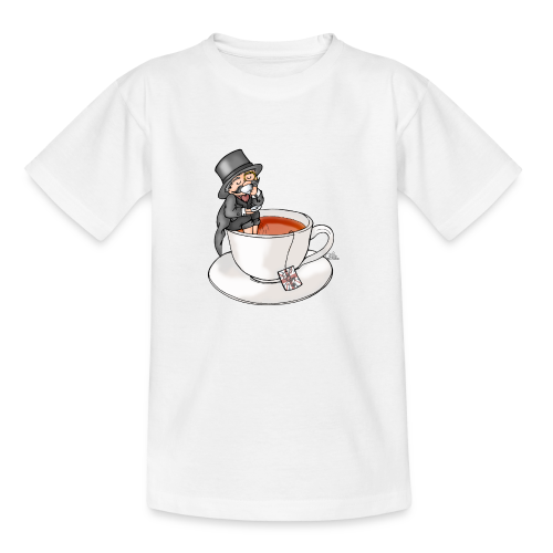 Teatime like a Sir mit Earl Grey - Teenager T-Shirt