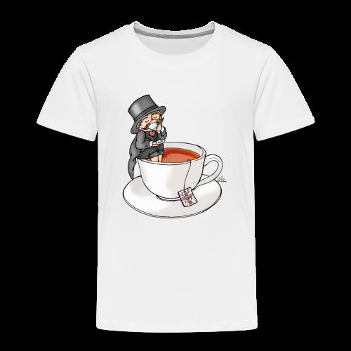 Teatime like a Sir mit Earl Grey - Kinder Premium T-Shirt