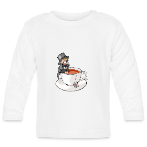 Teatime like a Sir mit Earl Grey - Baby Langarmshirt