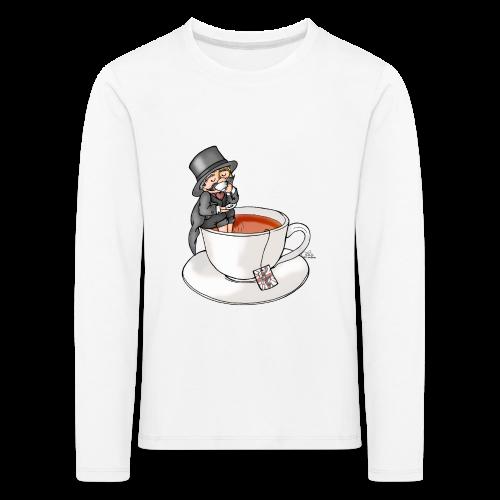Teatime like a Sir mit Earl Grey - Kinder Premium Langarmshirt