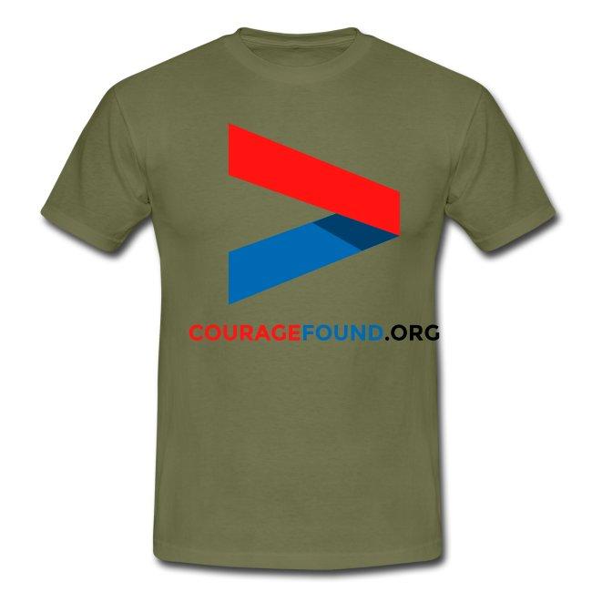 Courage Icon Men's T-Shirt