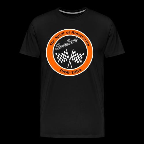 Zielflagge Shovelhead - Männer Premium T-Shirt