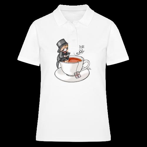 tea time like a Sir with Earl Grey (text) - Frauen Polo Shirt