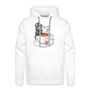 tea time like a Sir with Earl Grey (text) - Männer Premium Hoodie