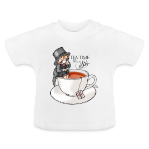 tea time like a Sir with Earl Grey (text) - Baby T-Shirt