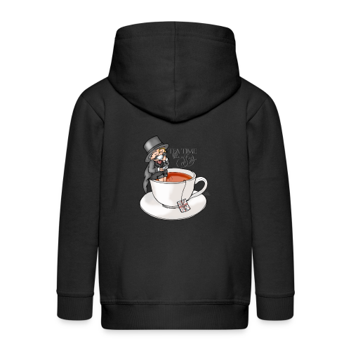 tea time like a Sir with Earl Grey (text) - Kinder Premium Kapuzenjacke