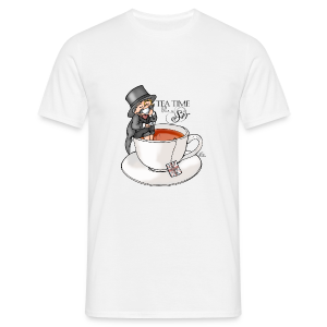 tea time like a Sir with Earl Grey (text) - Männer T-Shirt